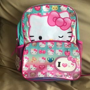 NWT Hello Kitty book back